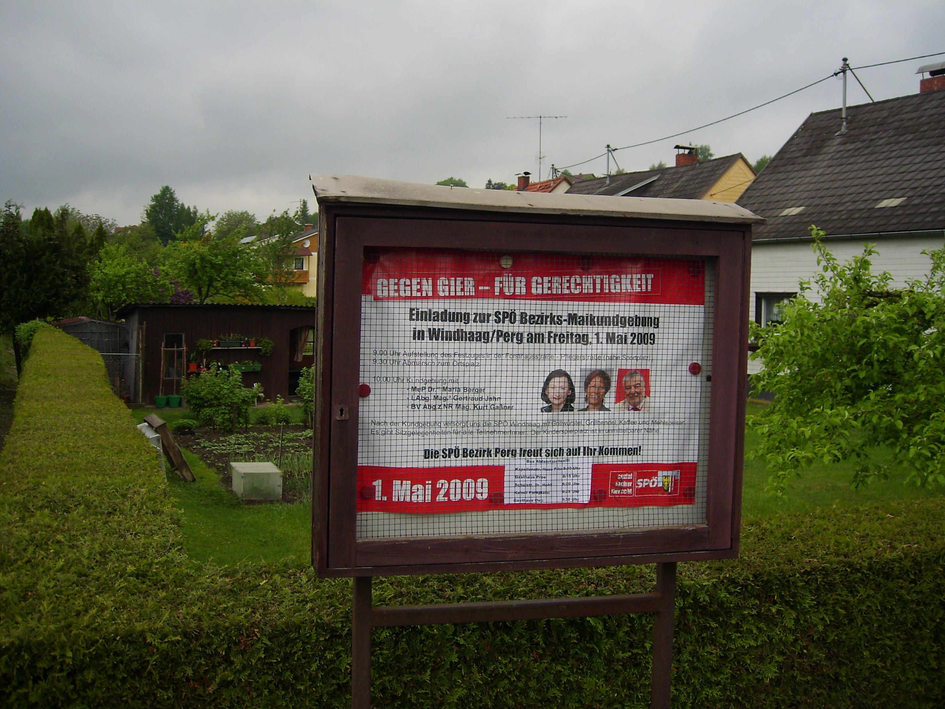 SPÖ Gier-Gerechtigkeit